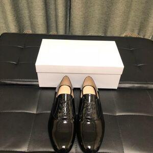 PRADA 普拉达男士黑色皮鞋