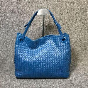 Bottega Veneta单肩包蓝色手提包