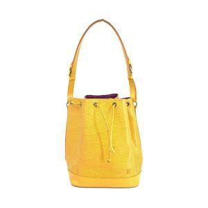 Louis Vuitton 路易·威登水波纹黄色手提包
