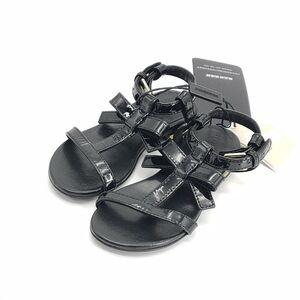 Burberry 博柏利黑色儿童凉鞋