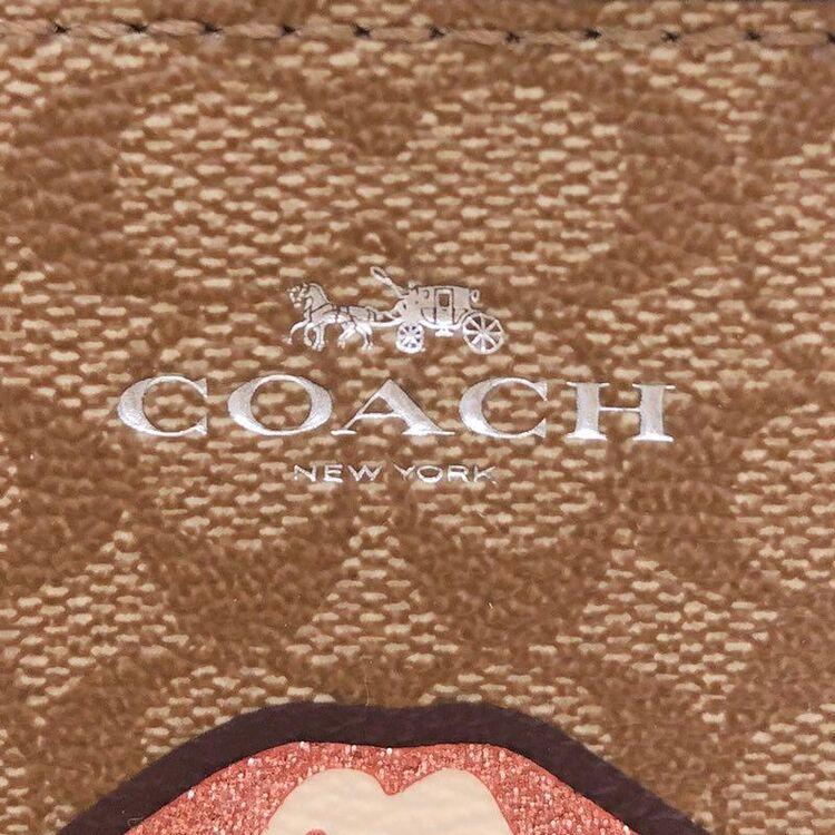 COACH 限量涂鸦C纹手拿包