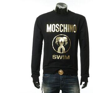 Moschino 莫斯奇诺男士烫金套头圆领卫衣
