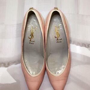 Yves Saint Laurent伊夫·圣罗兰女士低跟鞋