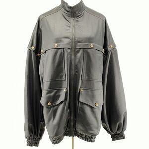GUCCI 古驰黑色oversize夹克上衣