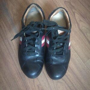 BALLY 巴利小牛皮休闲鞋