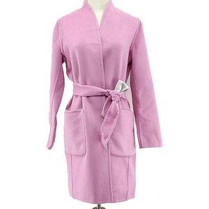 MaxMara 麦丝玛拉粉色灰色双面大衣
