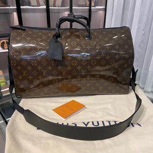 Louis Vuitton男士单肩包秀款keep50手提包