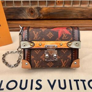 Louis Vuitton 路易·威登老花枫叶mini盒子包
