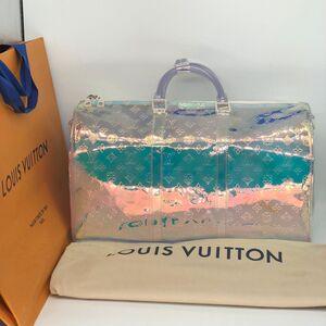 Louis Vuitton 路易·威登炫彩镭射keepall旅行包
