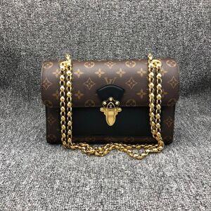 Louis Vuitton 路易·威登Victoire 维多利亚老花金珠单肩包
