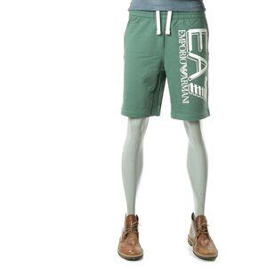 Emporio Armani  阿玛尼男士字母直筒短裤