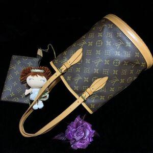 Louis Vuitton 路易·威登经典老花小号子母水桶单肩包