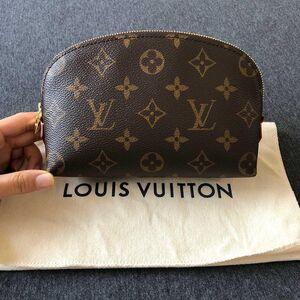 Louis Vuitton 路易·威登女士老花化妆包
