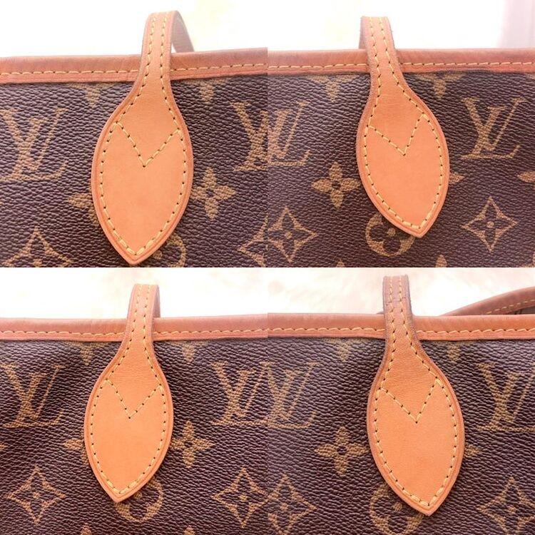 Louis Vuitton 经典老花中号17年NF购物袋托特包
