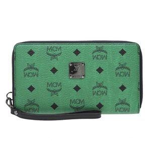 MCM 绿色手拿包
