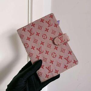 Louis Vuitton路易·威登粉色单宁手帐本