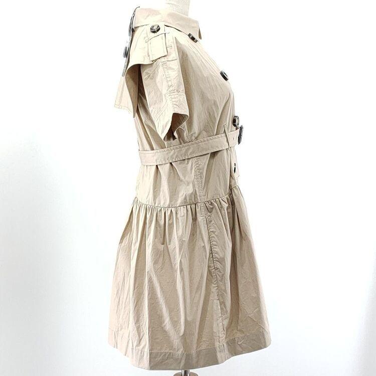 Burberry 博柏利大童浅卡其连衣裙