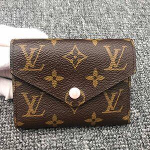 Louis Vuitton 路易·威登老花短款豆豆钱包