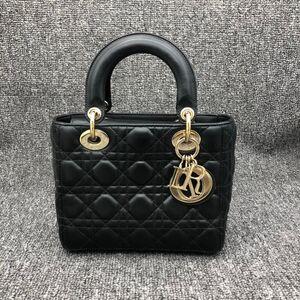 Dior 迪奥戴妃四格徽女士手提包