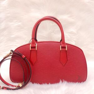 Louis Vuitton  路易威登西班牙红水波纹元宝手提单肩包