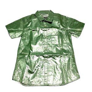 Burberry 博柏利绿色儿童衬衫