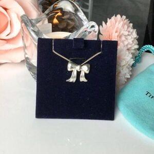 Tiffany & Co.蒂芙尼蝴蝶结女士项链