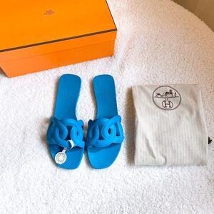 Hermès 爱马仕女士拖鞋