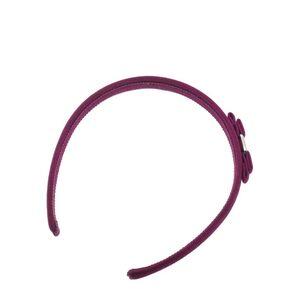 Ferragamo 菲拉格慕粉紫色可爱蝴蝶结发箍