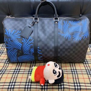 Louis Vuitton 路易·威登藤原浩联名款kp55行李箱