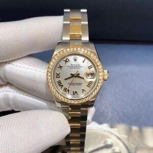 Rolex 劳力士179383女装日志型原镶钻圈女士机械表