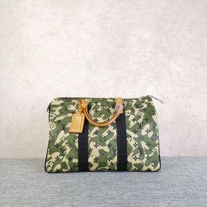 Louis Vuitton男士限量村上隆迷彩speedy35手提包