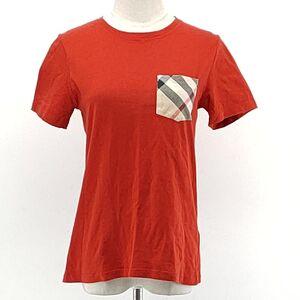 Burberry 博柏利儿童红色T恤