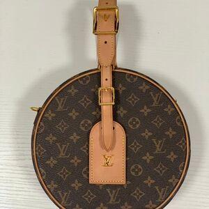 Louis Vuitton走秀款圆饼包