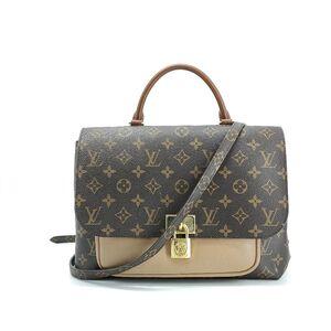 Louis Vuitton 路易·威登老花拼色邮差单肩包