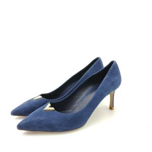 Louis Vuitton路易·威登宝蓝色高跟鞋