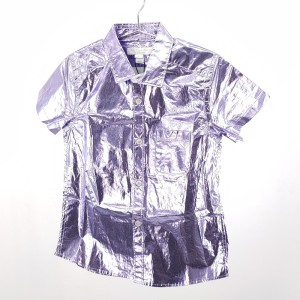 Burberry 博柏利金属紫色儿童衬衫
