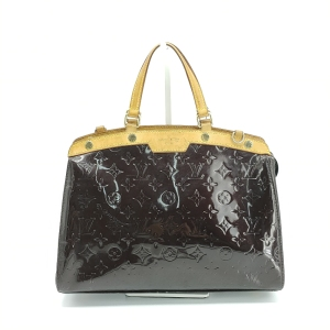 Louis Vuitton 路易·威登漆皮车厘子色手提包