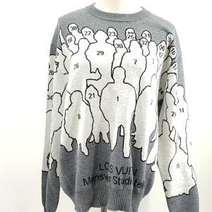 Louis Vuitton  路易·威登灰色针织衫