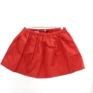 Miu Miu  缪缪红色半身裙