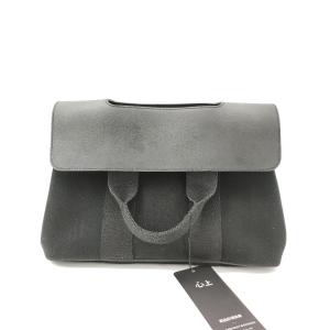 Hermès 爱马仕黑色翻盖手提包