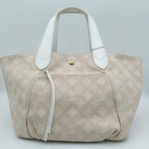 Louis Vuitton 路易·威登 裸色帆布手提包