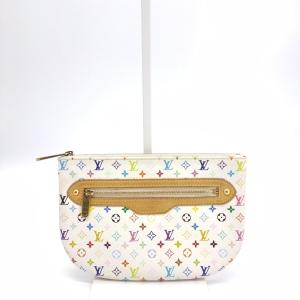 Louis Vuitton 路易·威登白三彩手拿包