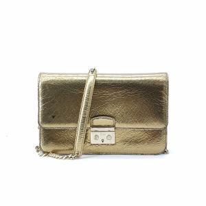 Dior 迪奥金属链条单肩包