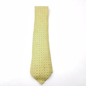 Hermès 爱马仕黄色领带