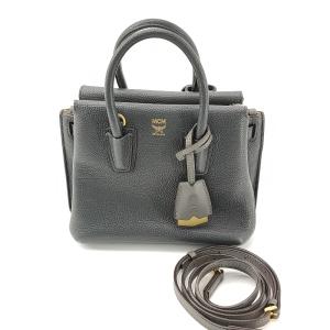 MCM Milla黑色手提包