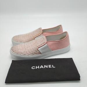 CHANEL 香奈儿粉色休闲鞋