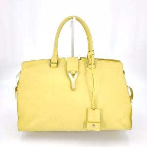 Yves Saint Laurent 伊夫·圣罗兰黄色手提包