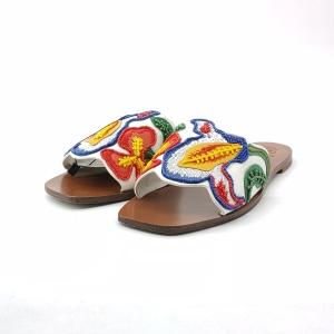 Tory Burch 托里·伯奇重工钉珠凉拖鞋