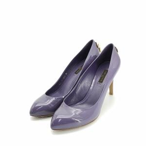 Louis Vuitton 路易·威登漆皮紫色36.5码高跟鞋