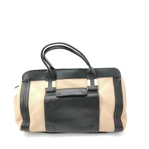Chloé 蔻依拼色手提包